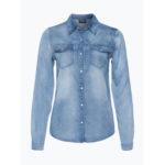 Vila Damska koszula jeansowa – Vibista