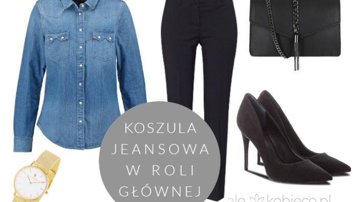 Koszula jeansowa - jak nosić? Stylizacje
