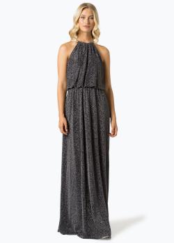 Apriori Damska sukienka wieczorowa srebrna - VanGraff