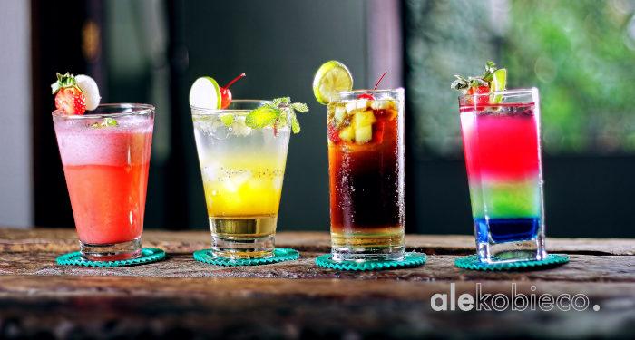 Kolorowe drinki przepisy