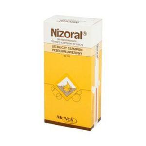Nizoral, szampon leczniczy przeciwłupieżowy