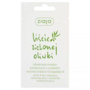 Ziaja, liście zielonej oliwki, oliwkowa maska kaolinowa z cynkiem oczyszczająco-ściągająca