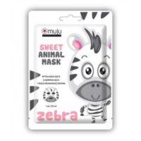 Muju Korean Beauty, Sweet Animal Mask, Zebra, Maseczka do twarzy