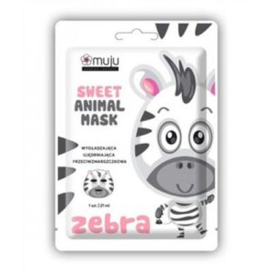 Muju Sweet Animal Mask Zebra