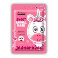 Muju Korean Beauty, Sweet Animal Mask, Jednorożec – maseczka do twarzy